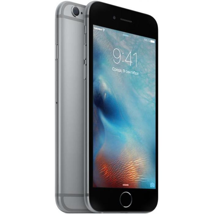 серый смартфон от Apple шестого поколения