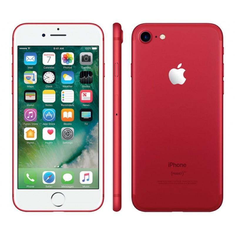 красный смартфон от apple