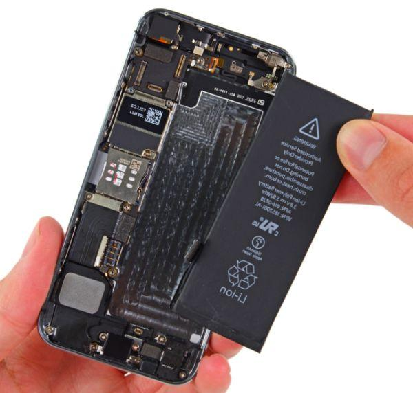 Замена батареи Айфона