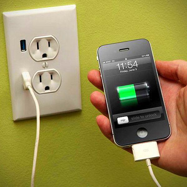 Телефон садится во время зарядки