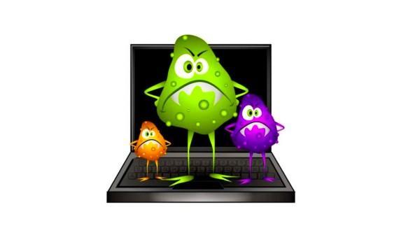 вирус в ноутбуке