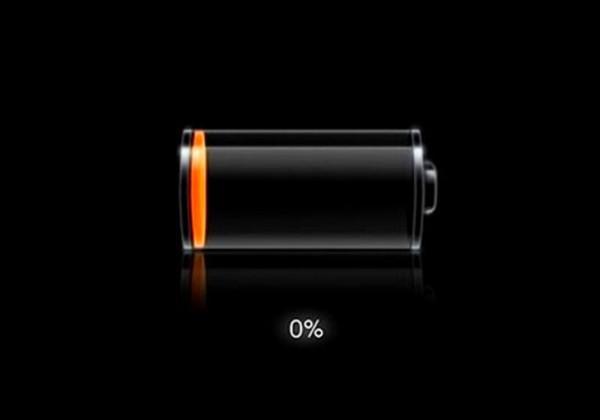 батарея разряжена