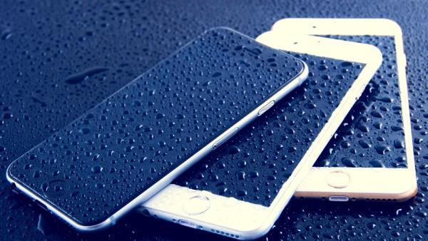 капли на айфонах