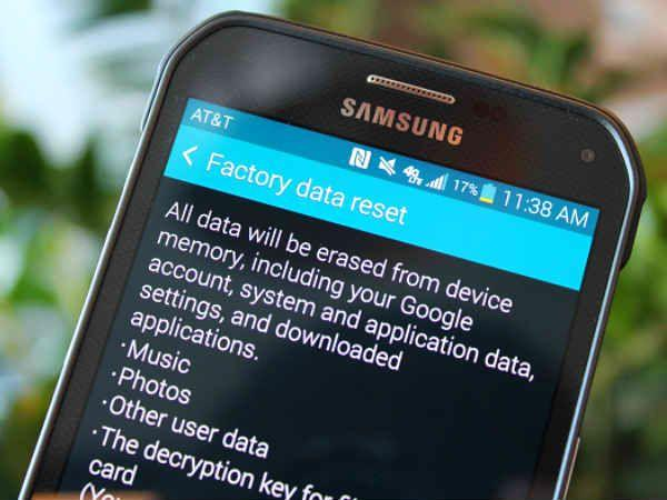 6 рабочих способов восстановить заводские настройки на телефоне Android