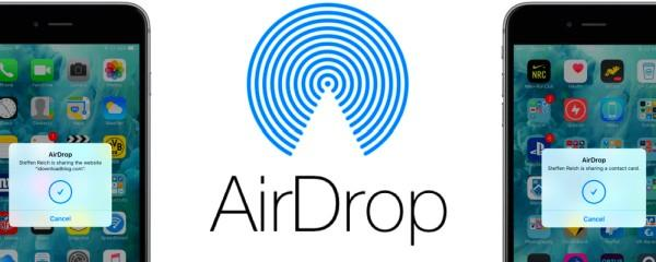 логотип айрдроп