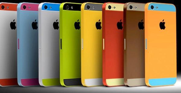 цветные айфоны
