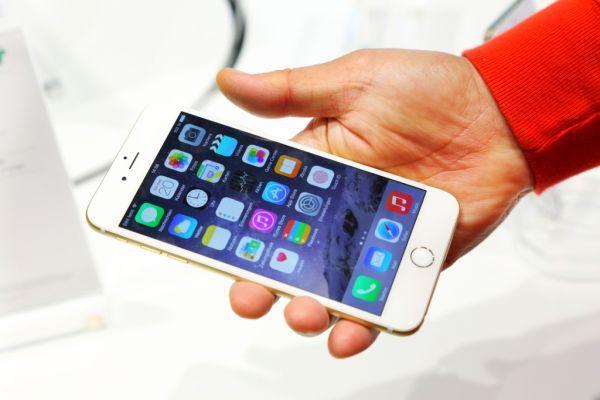 Айфон с неработающим динамиком