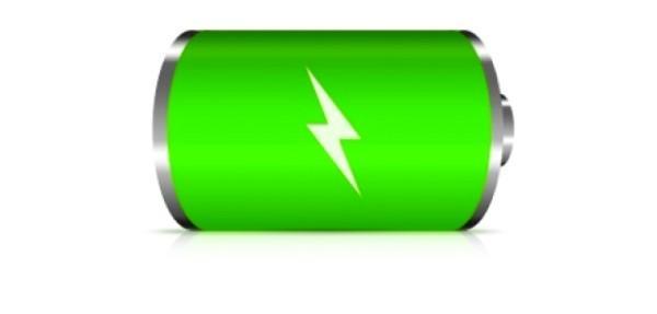 зеленая батарейка
