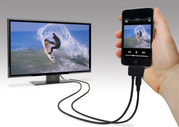 телевизор и смартфон