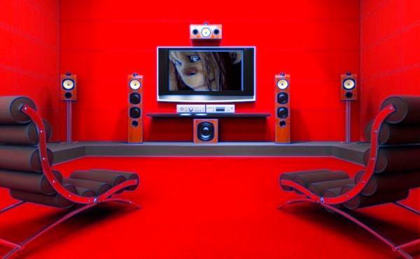 кинозал в доме