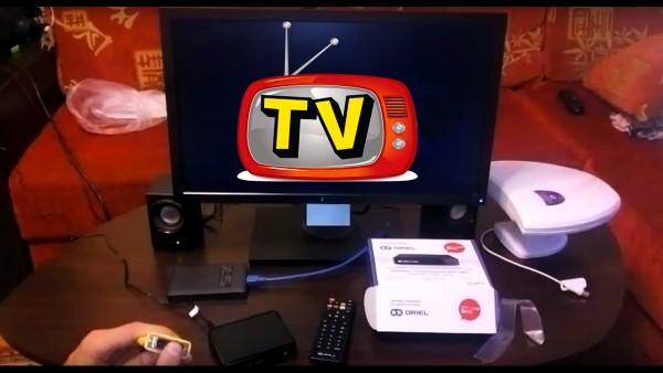 телевизор из монитора