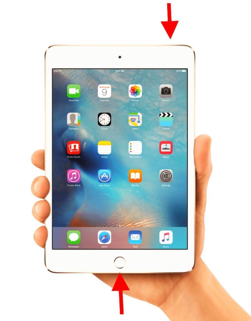Инструкция по перезагрузке iPad