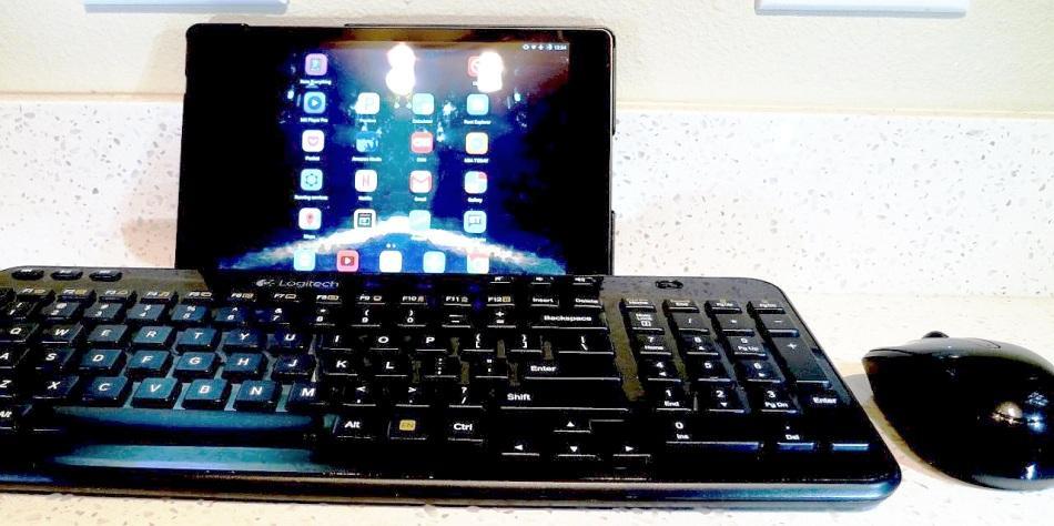 подключенная клавиатура