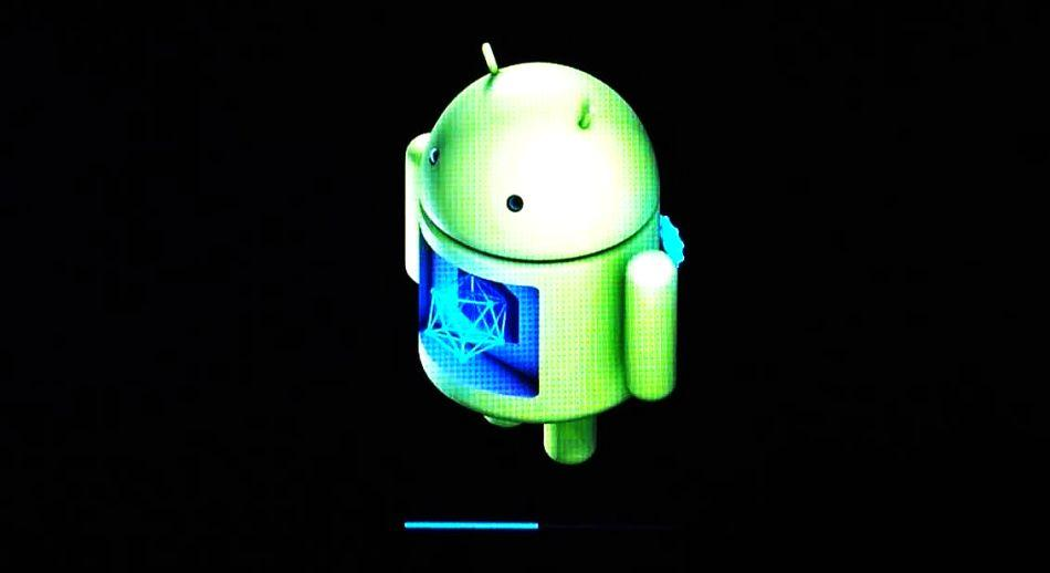 строки состояния при обновлении Android