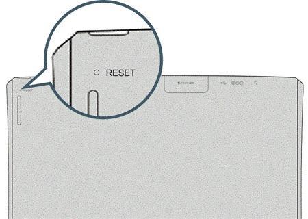 аппаратная кнопка сброса