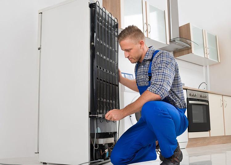 Как установить холодильник