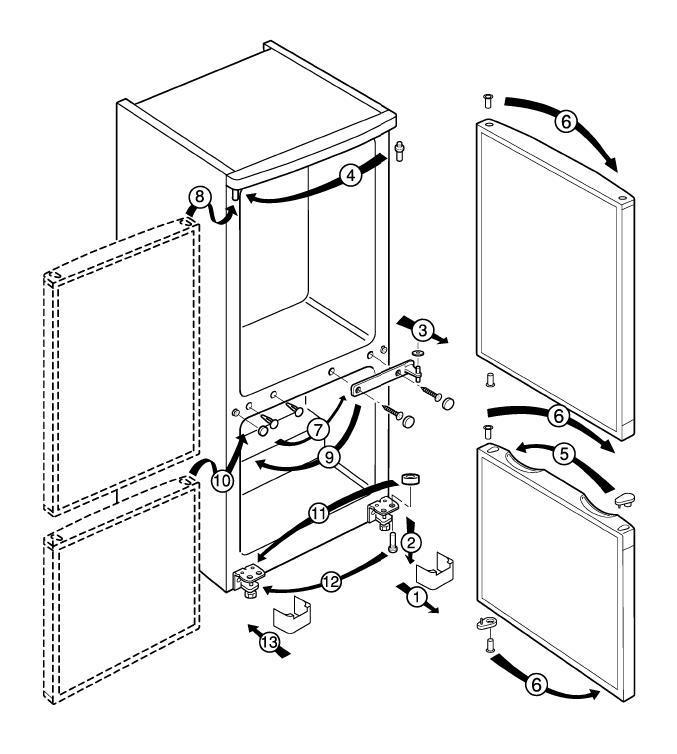 перенавес двери схематично