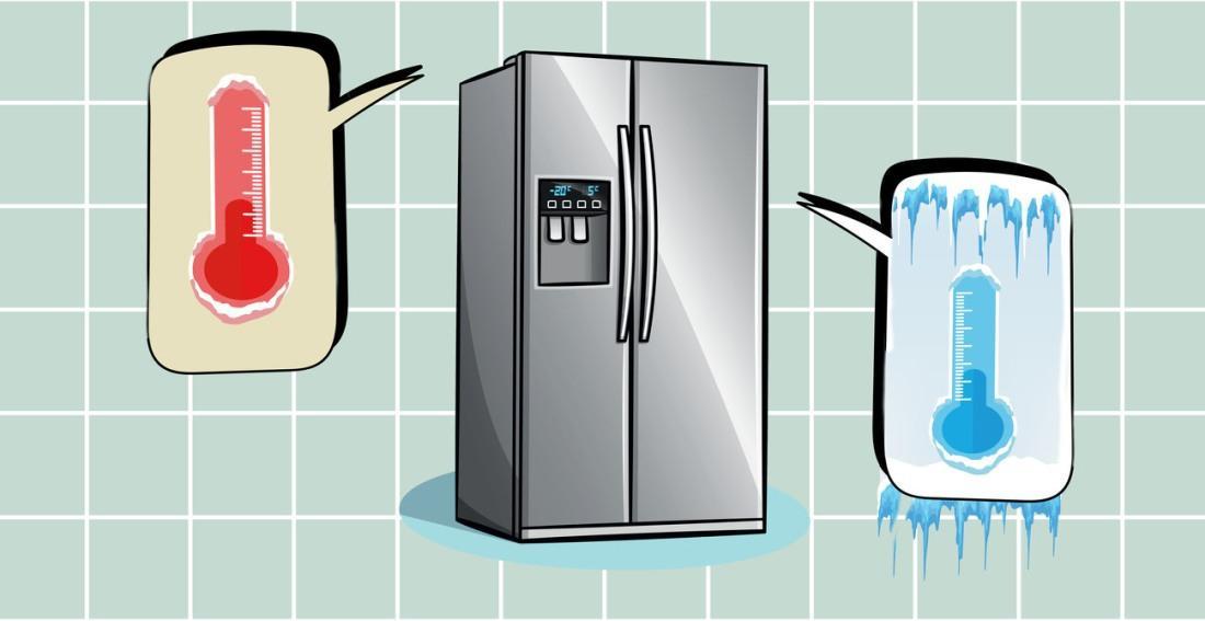 Оптимальная температура внутри холодильника