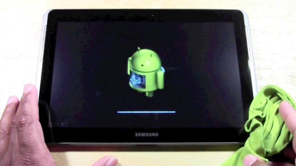 Обновление Андроид на планшете