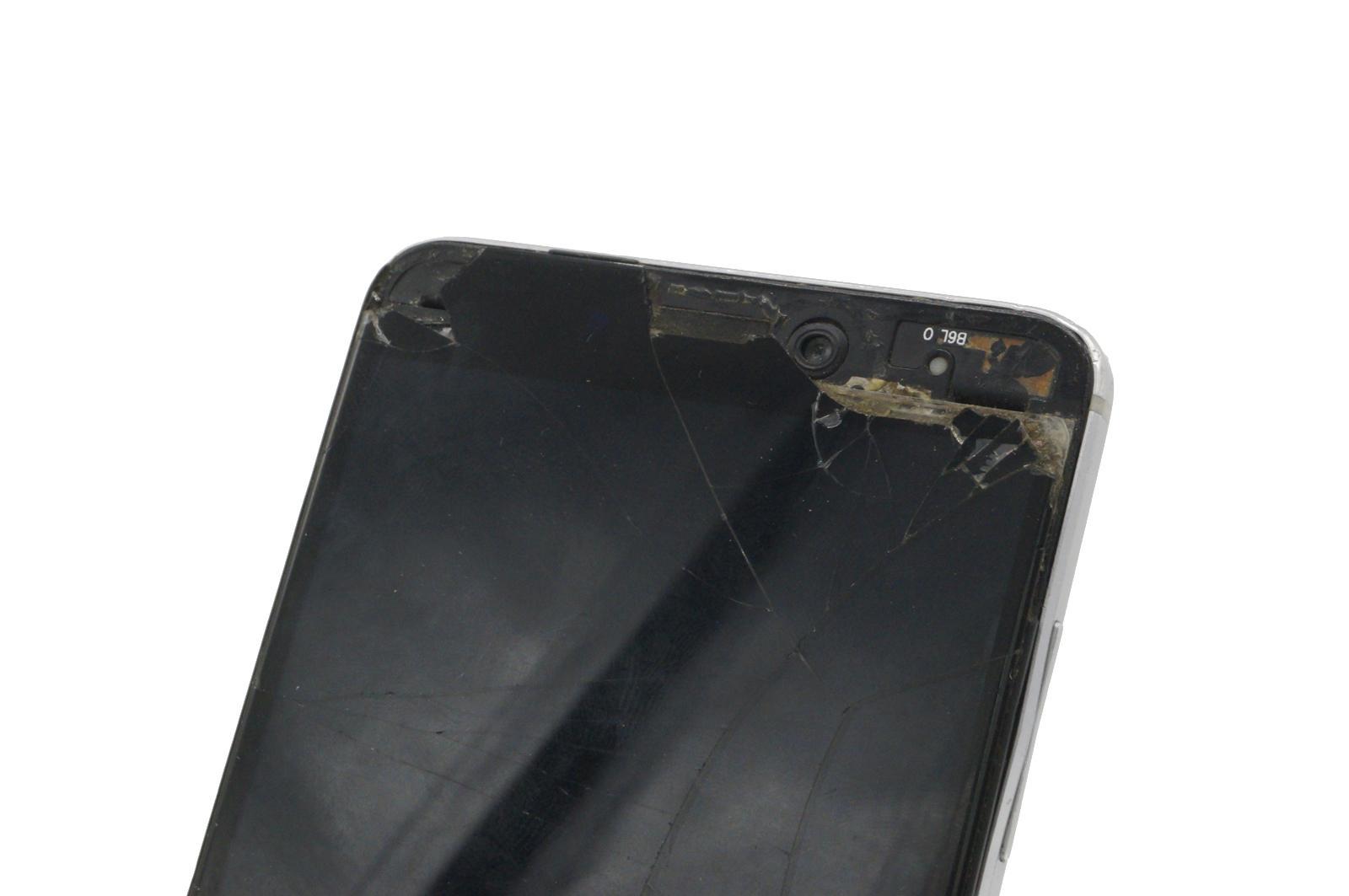 начало. разбитый экран