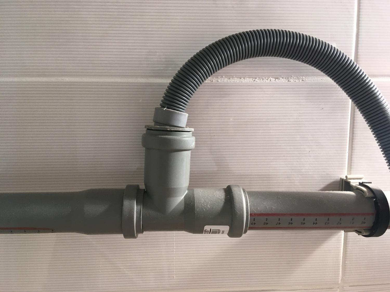 подключаем стиральную машину к канализации