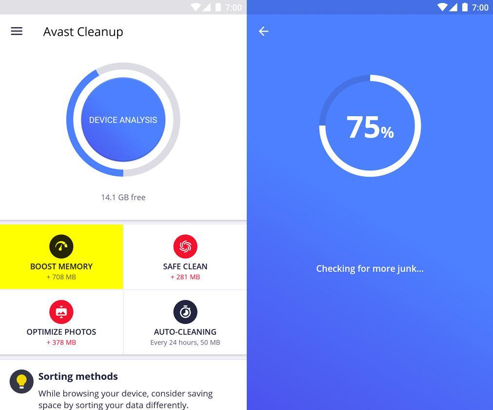 Аваст: программа для чистки Андроида