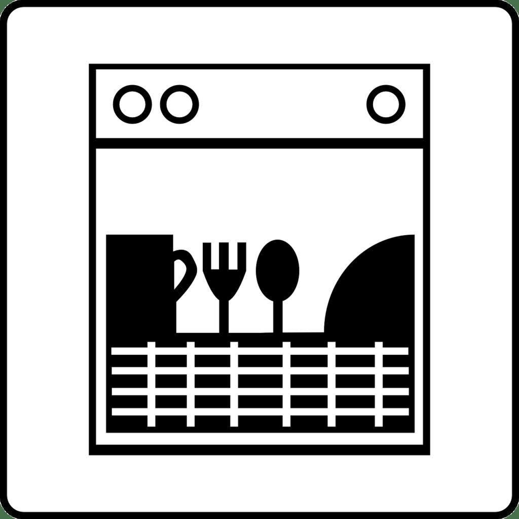 стилизованная посудомойка