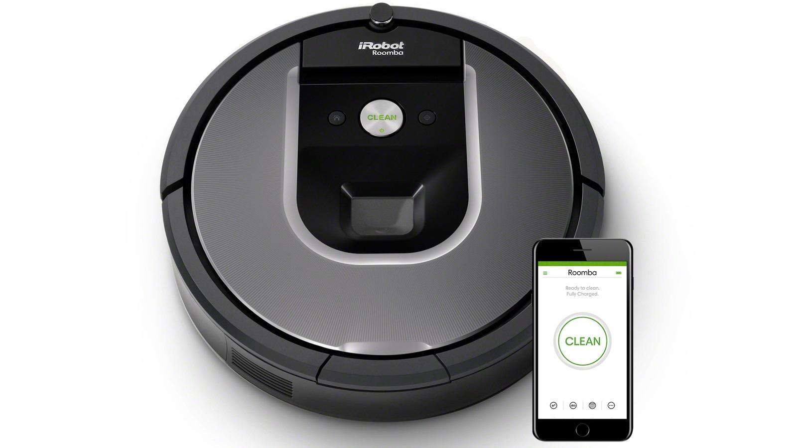 роботом-уборщиком можно управлять через смартфон