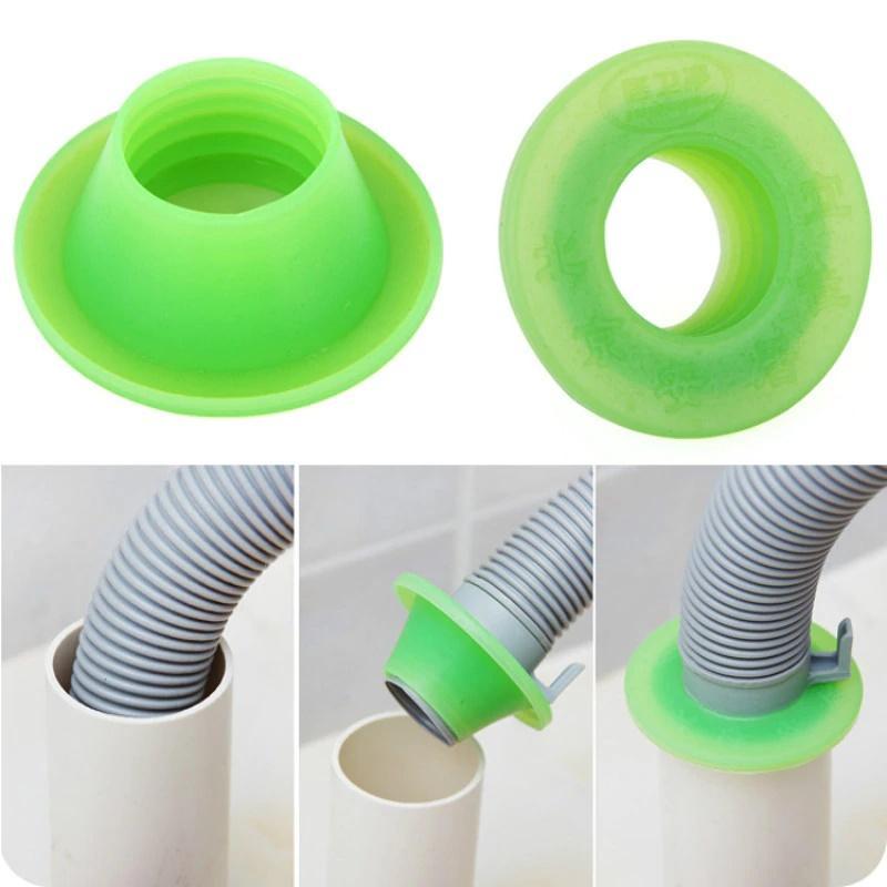 резиновая муфта для крепления сливного шланга к канализационной трубе
