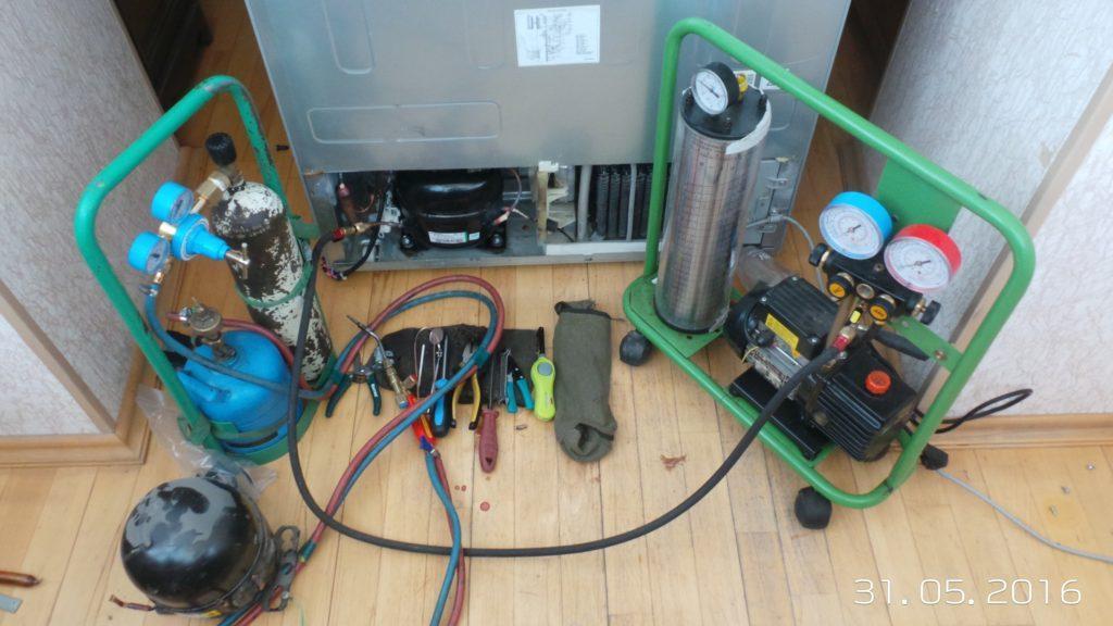 оборудование для дозаправки холодильников