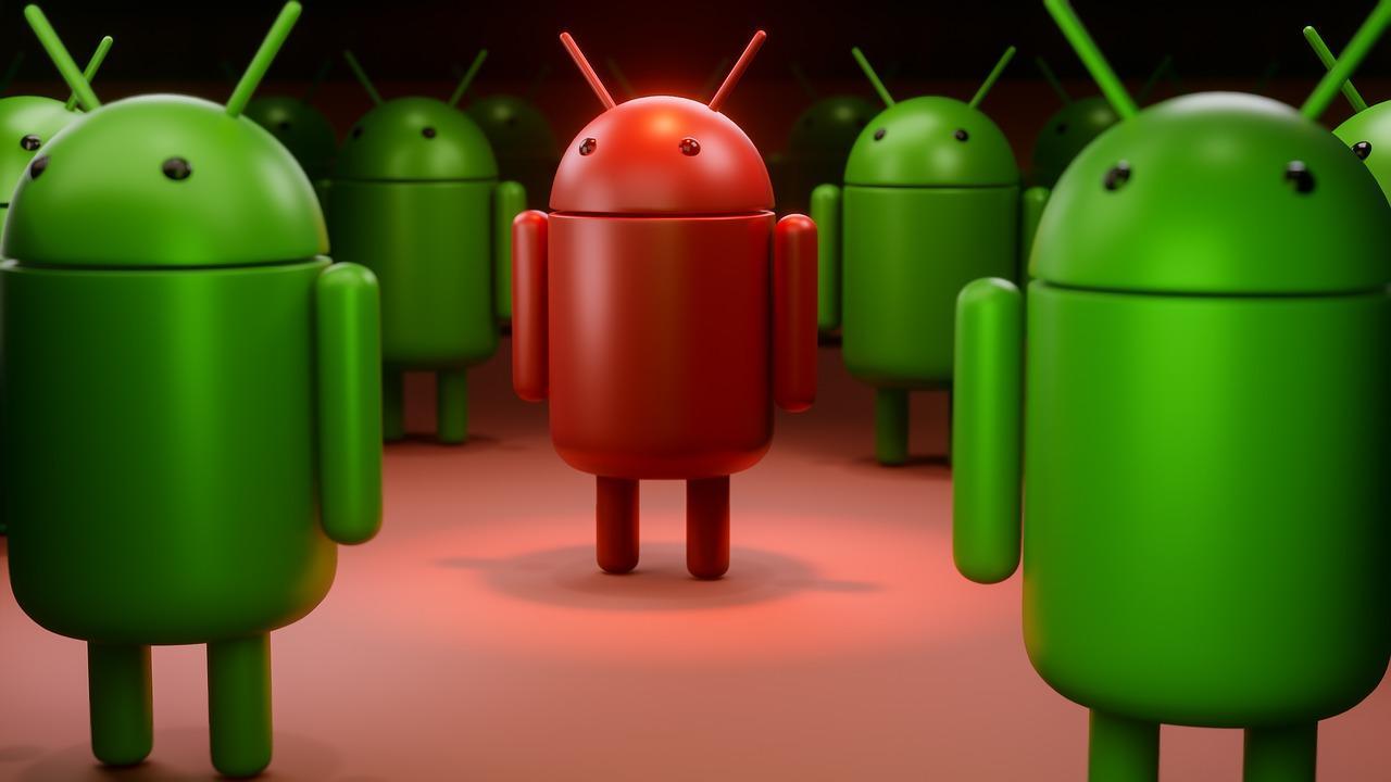 зараженный Андроид