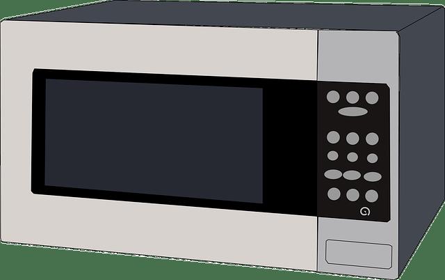 обычная микроволновая печь