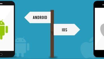 перенос данных между iOs и Android